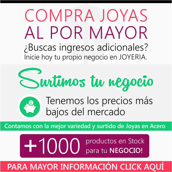 e7c421615299 Joyas en Acero al por Mayor Bogota Colombia Latinoamerica